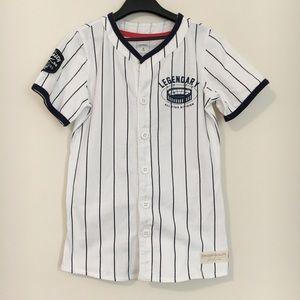 Carter's Baseball Jersey Style Tee